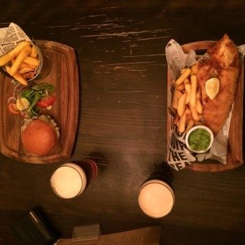 fish&chips + Burger